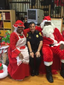 Holiday Party at TPD R.I.C.H. House in Robles Park